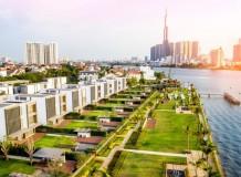 HOLM Residences tọa lạc ngay trên bán đảo Thảo Điền