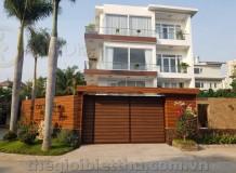 Biệt thự đẹp mới góc 2 mặt tiền khu biệt thự cao cấp Thảo Điền Nguyễn Văn Hưởng