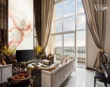 Penthouse Vista Verde view sông Sài Gòn