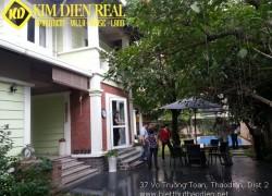Cần bán gấp biệt thự Thảo Điền hồ bơi sân vườn