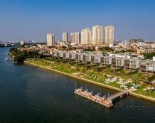 Biệt thự góc 3 mặt tiền ven sông Sài Gòn Thảo Điền