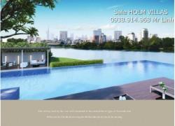 Khu biệt thự Holm Villas đẳng cấp nhất Việt Nam