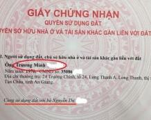 Bán đất Long Phước Quận 9 vị trí đẹp đầu tư tốt