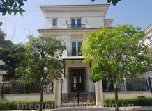 Biệt thự Saroma Sala Đại Quang Minh Thủ Thiêm hoàn thiện ngoài thô trong