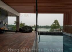 Cho thuê siêu biệt thự đẹp mặt tiền Nguyễn Văn Hưởng Thảo Điền Quận 2