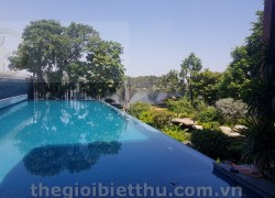 Biệt thự ven sông Sài Gòn khu 189 Nguyễn Văn Hưởng đối diện Xi Riverview