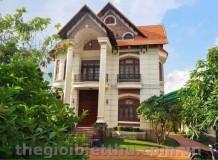 Cho thuê biệt thự mặt tiền đường Nguyễn Ư Dĩ Thảo Điền