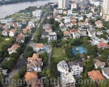 Đất xây căn hộ dich vụ mặt tiền đường 46 Thảo Điền