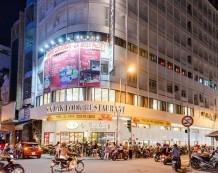 Cho thuê tòa nhà góc 2 mặt tiền 411 Trần Hưng Đạo và Châu Văn Liêm