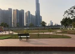 Bán 3 lô đất góc hai mặt tiền Cao Đức Lân đối diện công viên Hồ Sinh Thái An Phú An Khánh