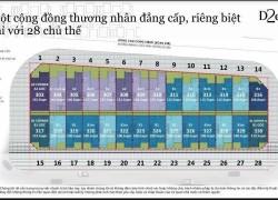 Bản đồ dự án D2eight của Capitaland mặt tiền Đồng Văn Cống Thạnh Mỹ Quận 2