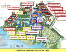 Cho thuê shophouse Park 2 Vinhomes Central Park