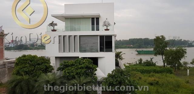 Biệt thự Thảo Điền bờ sông Saigon